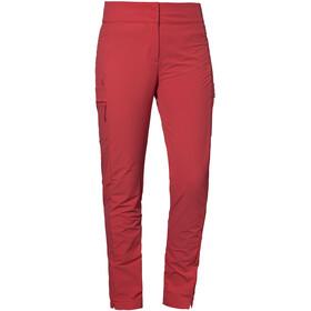 Schöffel Teisenberg Pantaloni Donna, rosso